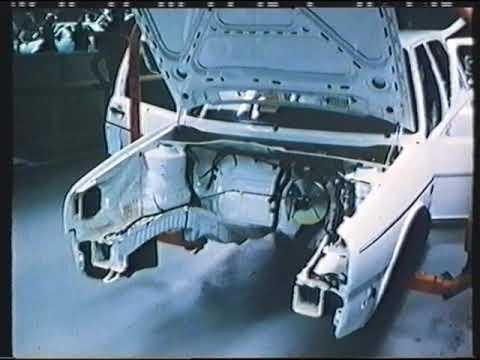 VW Golf MK2 Production line
