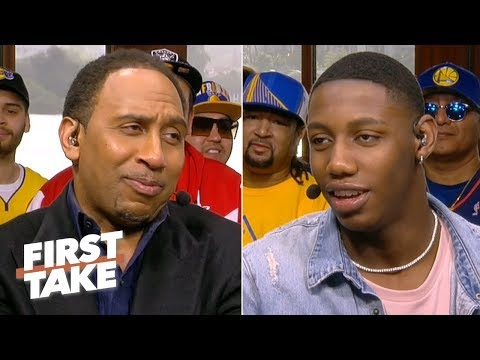 RJ Barrett makes his case for playing for the Knicks: 'I'm built for this' | First Take