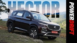 MG Hector : A car with a voice : PowerDrift