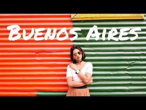 COLORFUL BUENOS AIRES TRAVEL VLOG - Where to go and What to do