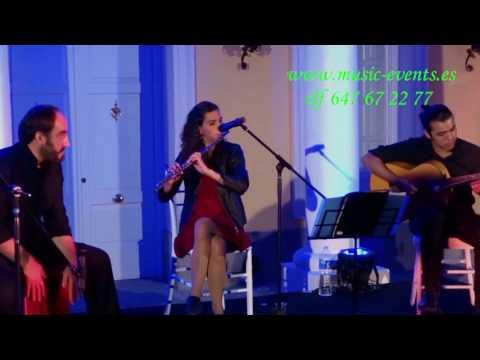 Grupo Flamenco Jazz Instrumental, para eventos en Madrid.
