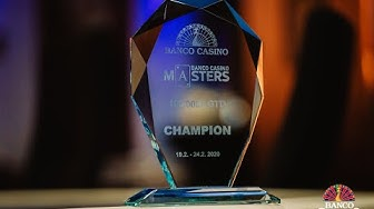 Livestream: Final Day of the Banco Casino Masters with prize pool 141,950€!