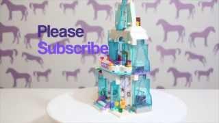 Lego Disney Princess Frozen  Elsa's Sparkling Ice Castle #41062 Review Build