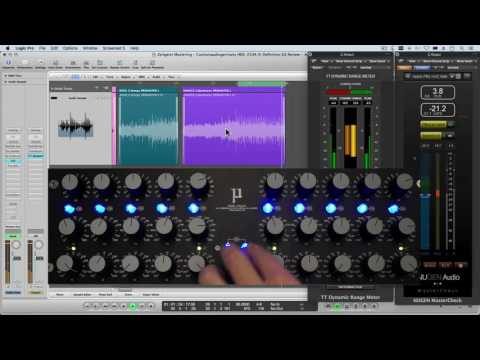 Customaudiogermany HDE-250A EQ REVIEW with Mid Side Matrix and Mastering tips