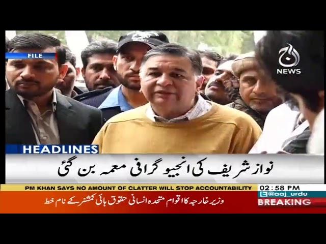 Headlines 3 PM | 23 February 2019 | Aaj News