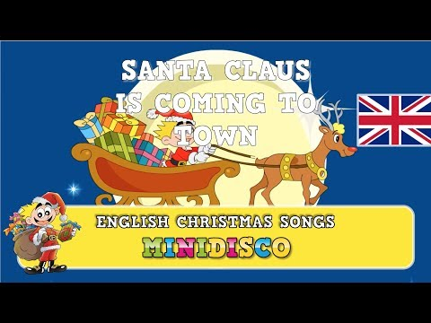 Santa Claus Is Coming To Town | Christmas songs for children | Cartoons by Minidisco