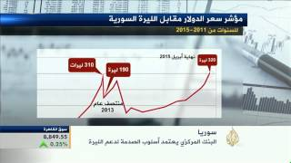 البنك المركزي السوري يعتمد أسلوب الصدمة لدعم الليرة
