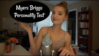 [ASMR] Myers Briggs Personality Test - Whispered