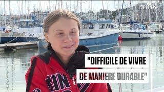 Greta Thunberg en direction de New York à bord d'un voilier zéro carbone