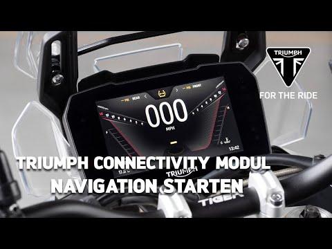 Triumph Motorrad Connectivity Modul - Navigation