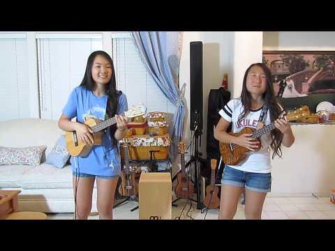 UkuLise and Emi  Hawaiian Roller Coaster Ride
