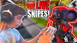 🔴LIVE Call of Duty Mobile CLEANEST SNIPES and QUICKSCOPES!!  // Level 150 Maxed Player