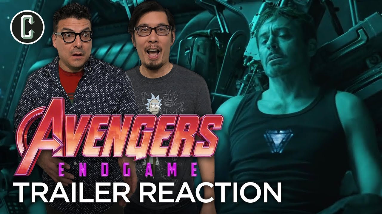 Avengers Endgame Trailer Reaction and Review
