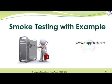 Software Testing Smoke Test With Example Youtube