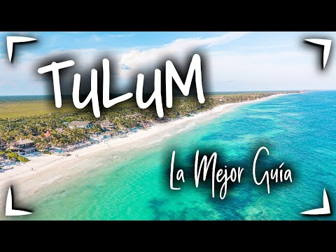 TULUM 🔴 GUIA COMPLETA ► Que hacer en TULUM 2 - 3 días ✅ Zona arqueologica , Zona hotelera y Pueblo