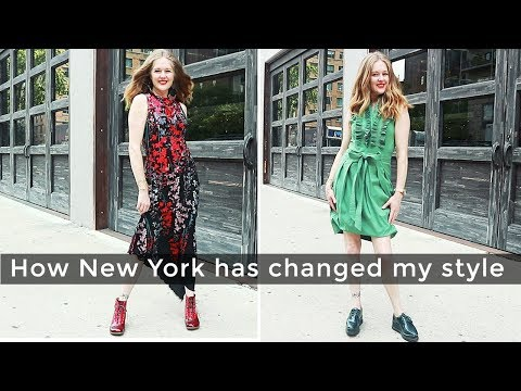 Fashion for women over 40 - how New York changed my style