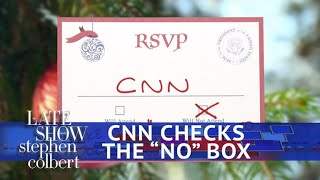 CNN Is Skipping The White House Christmas Party