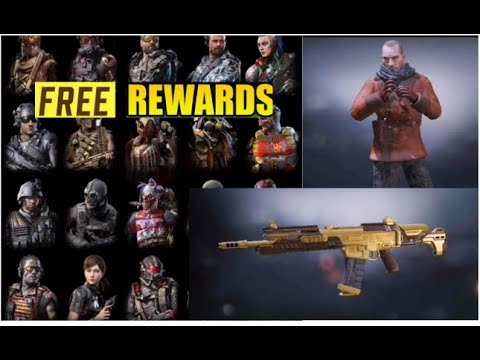 Get Free Skins Gun In Cod Mobile New Characters Skins Leaks Call Of Duty Mobile Season 8 Leaks Codm Youtube