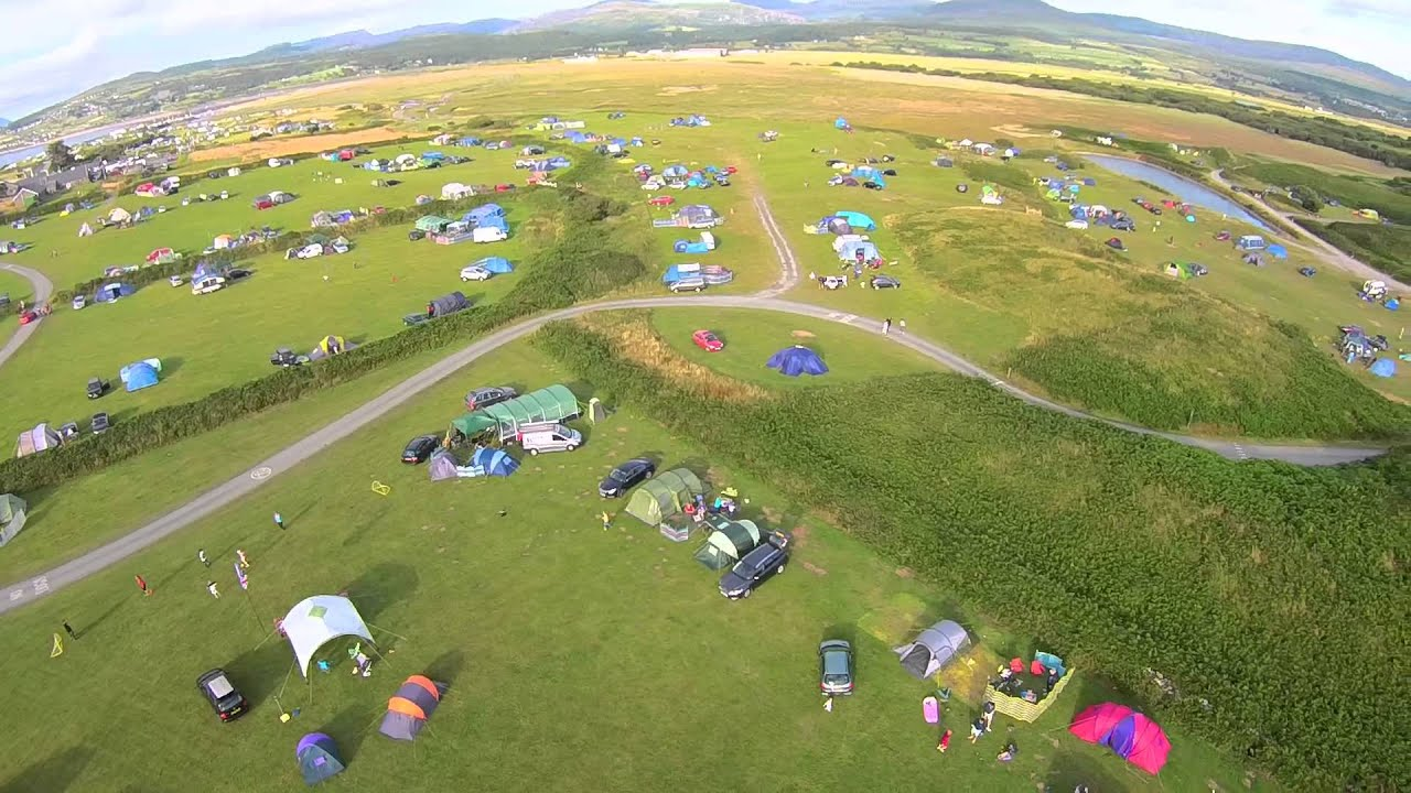 Camping Shell Island 2015 Aerial View - YouTube
