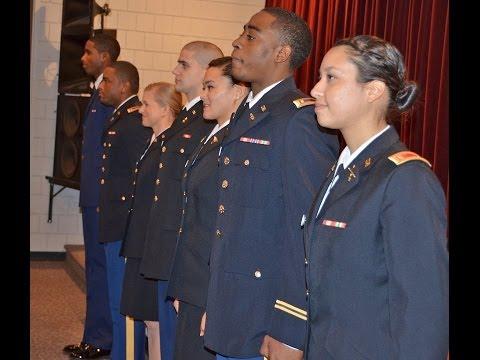 Blue Raider Battalion Commissioning Pinning Ceremony