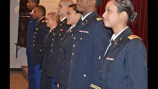 Blue Raider Battalion Commissioning Pinning Ceremony