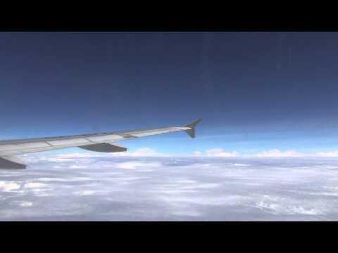 Viaje completo Bogotá Santa Marta Vuelo LAN 1 parte (Full flight)