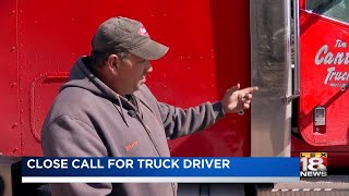 Trucker Road Rage - Wednesday, April 18, 2018 - 6 a.m.