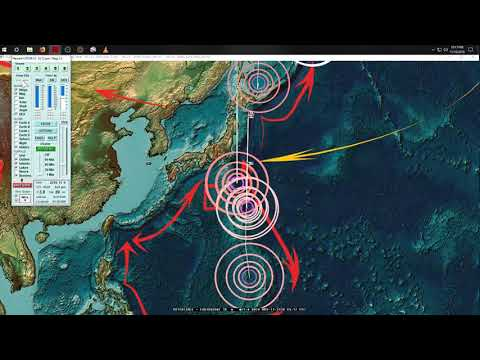 11/11/2018 -- Large Earthquake likely within next several days -- W. Pacific + West Coast USA