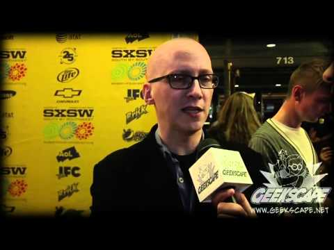 """Geekscape Interviews Nick Frost and Greg Mottola about """"Paul"""" at SXSW 2011!"""