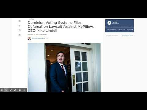 Dominion Voting System vs. Mike Lindell