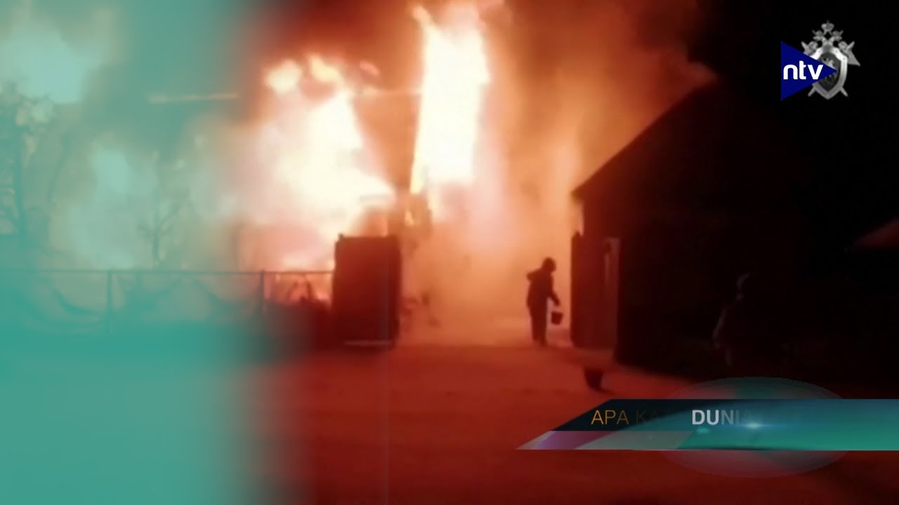 Panti Jompo Terbakar, 11 Lansia Tewas