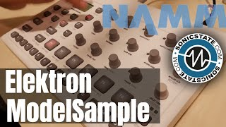 NAMM 2019 Elektron Model: Samples
