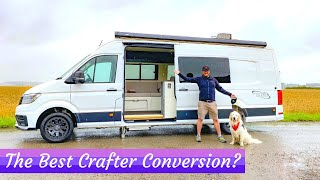 The ULTIMATE BESPOKE VW CRAFTER CAMPER VAN - Rhales Conversions