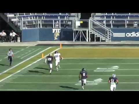 2014 FCS Bowl Blue Film DEF vs FCS Bowl White OFF Scouts Endzone Sideline 1 of 3