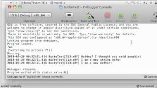 Objective C Programming Tutorial - 56 - Finishing Mutable Strings