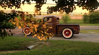 """Little Diablo"" 1936 Chopped Ford Hot Rat Street Rod Patina Pickup Truck  FOR SALE"