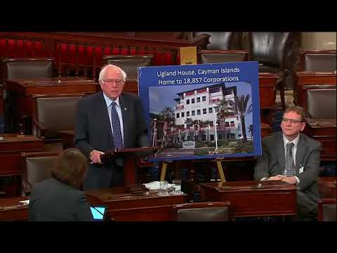 Bernie Sanders asks the Senate Budget Committee conduct an investigation into the Paradise Papers