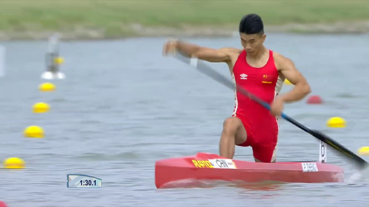 C1 1000 m men Final A. ICF Canoe Sprint and Paracanoe World Championship 2019 Szeged Hungary