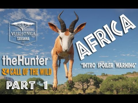 TheHunter Call Of The Wild Africa - First Look / First Hunt Ep#1