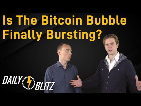 Is The Bitcoin Bubble Finally Bursting?