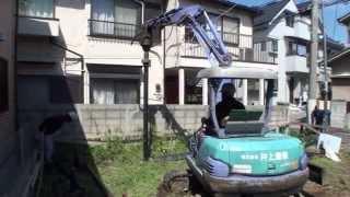 大地震に強い地盤改良 鋼管杭工法