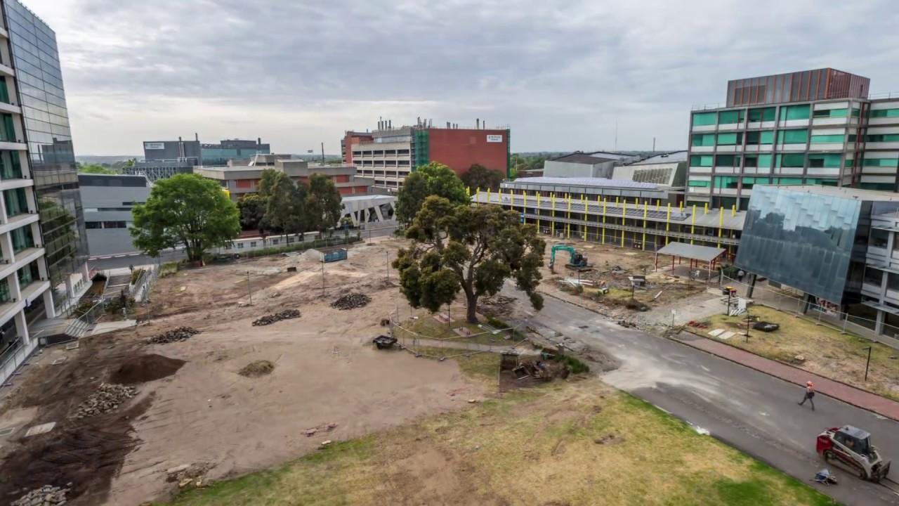 The new Caulfield Campus Green - Monash University - YouTube