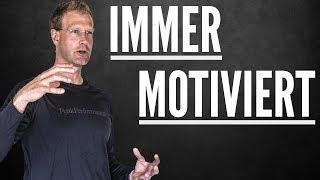 Das GEHEIMNIS der SELBSTMOTIVATION (dauerhafte Motivation ist möglich)