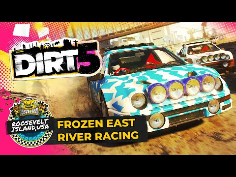 DIRT 5 Gameplay   New York Ice Racing Under Fireworks!   Xbox Series X / Series S, PS5