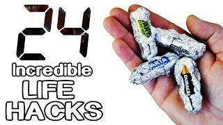 24 Incredible Life Hacks and Gadgets!