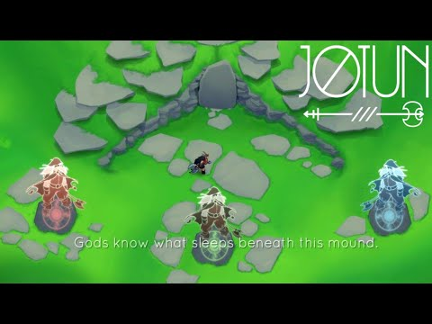 Jotun: Valhalla Edition - Tutorial Boss Fight Gameplay (60 FPS HD) |
