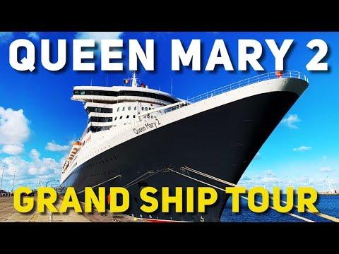 Cunard Queen Mary 2 Ship Tour