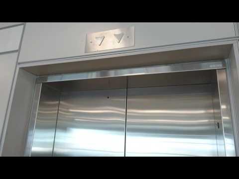 Elevator in Terminal 3 annex at Toronto Pearson International Airport