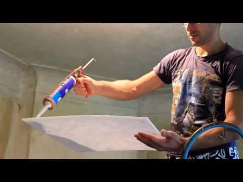 Как правильно класть потолочную плитку