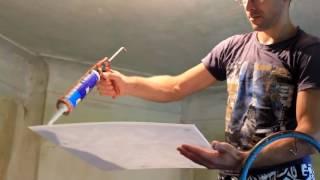 Как правильно клеить потолочную плитку(, 2017-03-25T16:50:38.000Z)